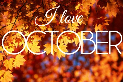 I love the month of October